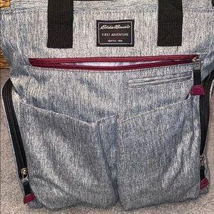 Eddie Bauer first adventure diaper bag